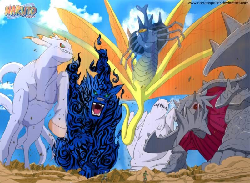 Naruto  Jinchuuriki and Tailed Beast Opening Song